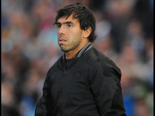 Real Madrid target City misfit Carlos Tevez