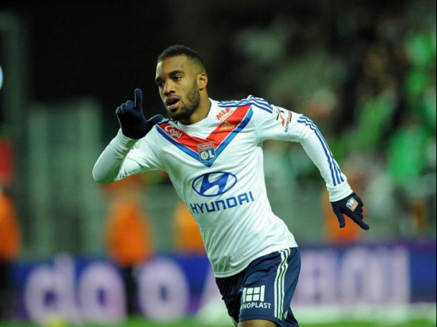 Lyon's Alexandre Lacazette Liverpool's Remy alternative