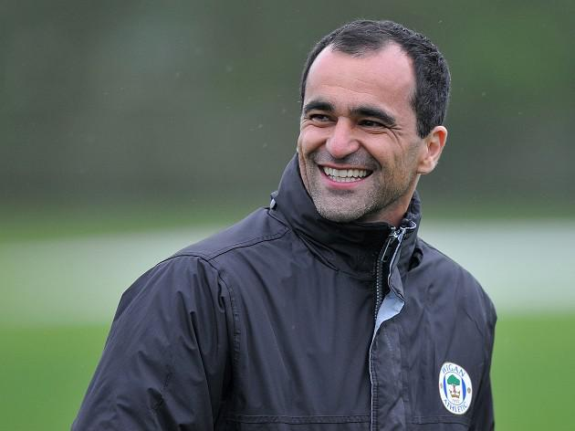Martinez won't rush for Latics exit