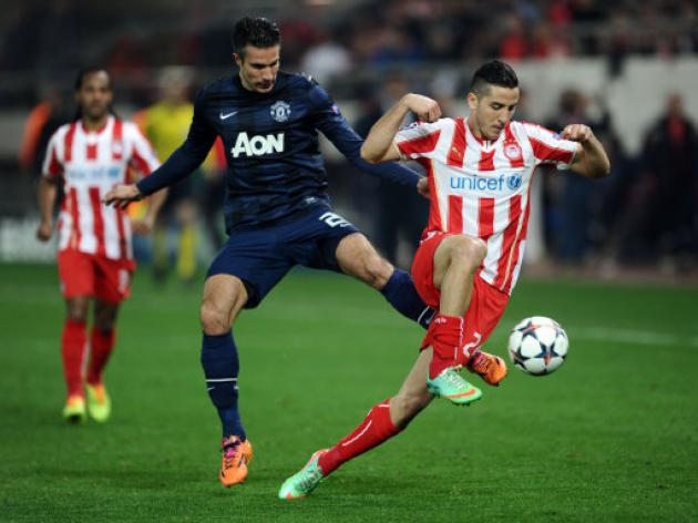 RvP ups the pressure on Moyes as he queries United's team set up after humiliating defeat in Athens