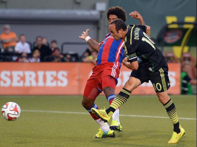 MLS All-Stars edge Bayern Munich in friendly