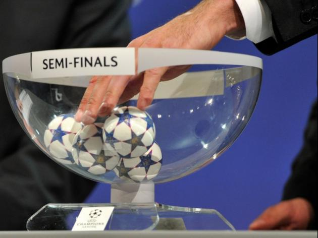 UEFA Champions League Semi Final Draw: LIVE