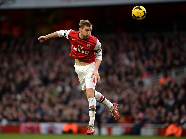 Mertesacker ready for tough run