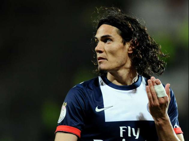 Cavani scores brace as PSG win League Cup