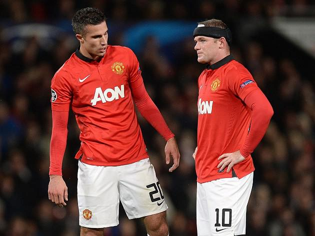 Rooney and RVP to miss United's trip to Chelsea