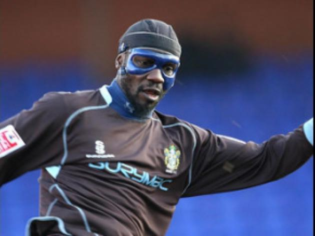 Sodje banned for Shrimps clash
