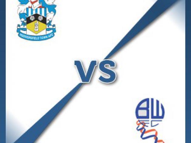 Huddersfield V Bolton at John Smith's Stadium : Match Preview