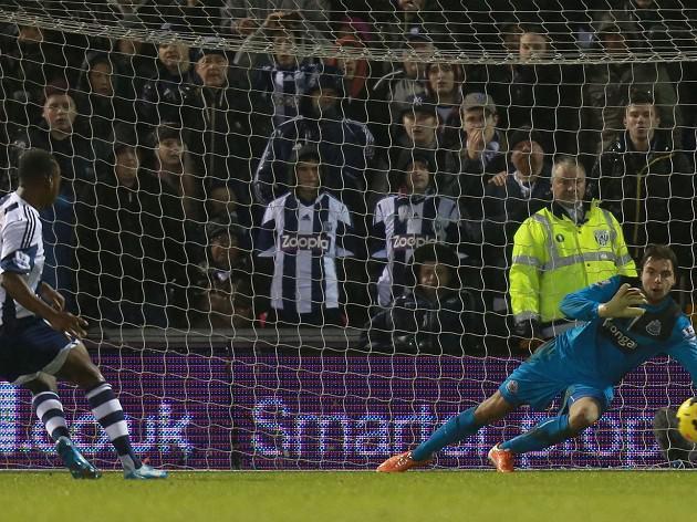 Berahino spot-kick wins it for West Brom