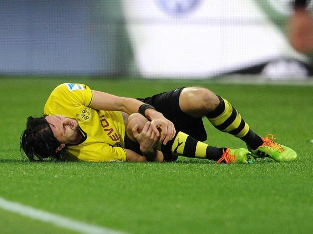 Dortmunds Subotic suffers suspected torn cruciate