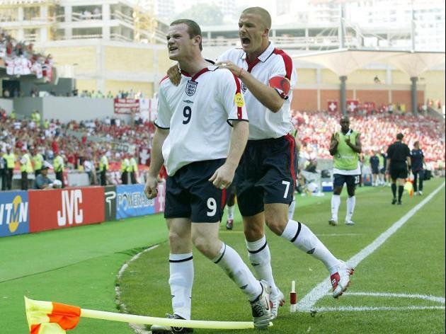 Beckham: Rooney an inspiration