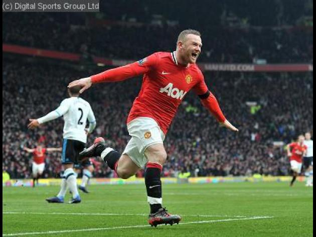 PFA Players' Player of the Year nominee 2012: Wayne Rooney