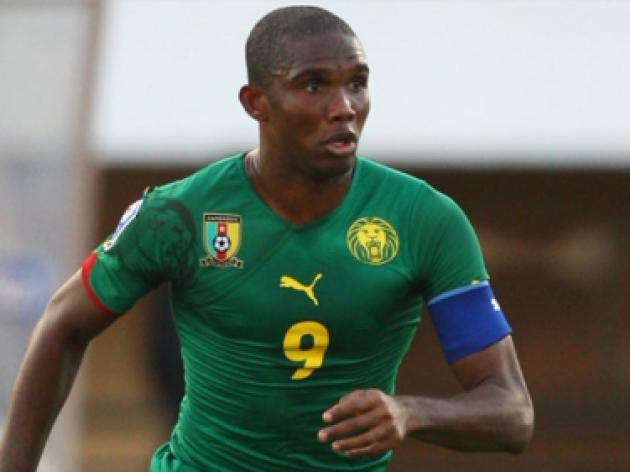 Eto'o interviewed over Cameroon no show