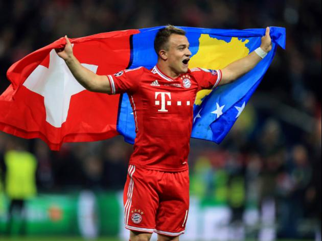 Liverpool close in on Bayern Star Shaqiri