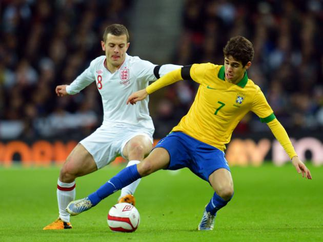 Arsenal Duo Shine In England Player Ratings vs Brazil