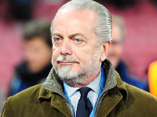 Napoli president De Laurentiis eyes Dzeko deal