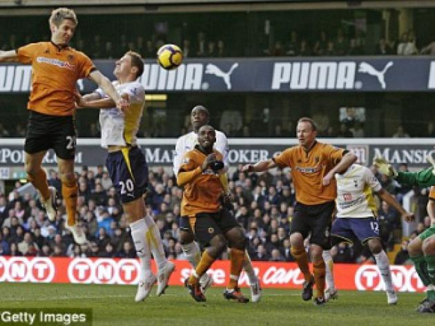 Tottenham 0 Wolves 1: Redknapp suffers as Doyle delivers survival boost