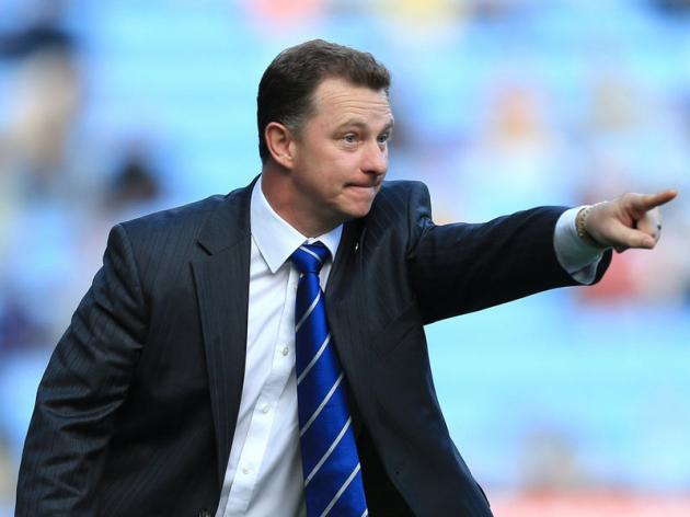 Coventry City manager Mark Robins has said that he is at the Sky Blues for the long haul