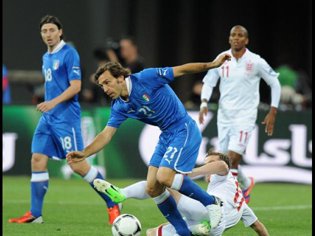 Pirlo: Penalty was key to England defeat