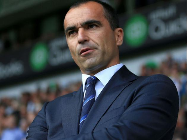 Roberto Martinez says Everton will be trying to win the Europa League