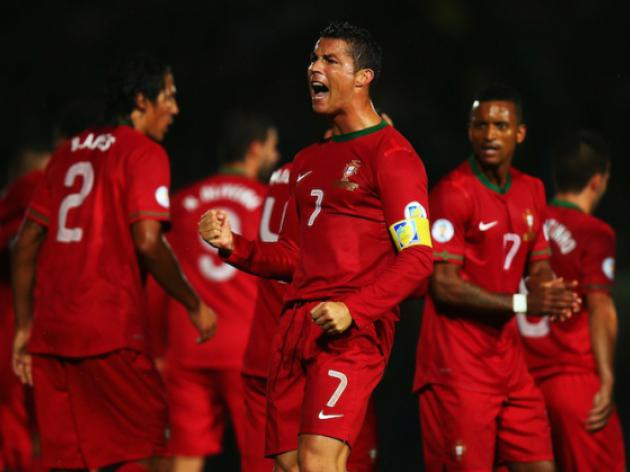 Injured Ronaldo to miss Portugal friendly