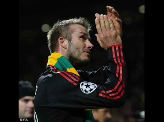 PIERS MORGAN: Beckham's green and gold stunt was a load of tosh
