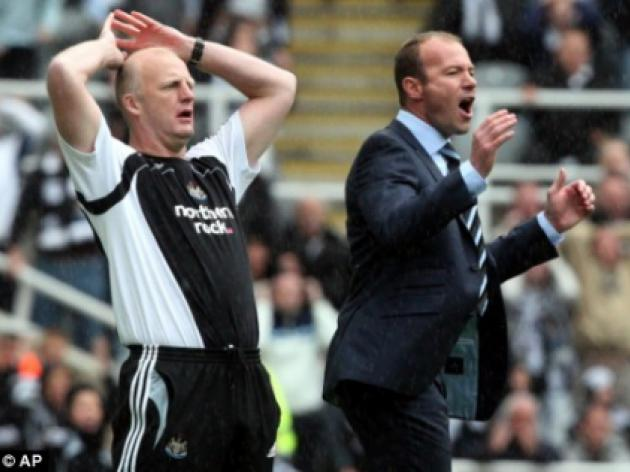 We are only here temporarily, insists Shearer's Newcastle assistant Dowie