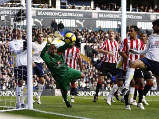 Tottenham 2 Sunderland 0: Black Cats robbed by Spurs after Gomes heroics