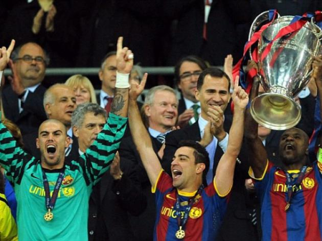 Barcelona 3 Manchester United 1: Pedro, Lionel Messi and David Villa crown Barca kings of Europe