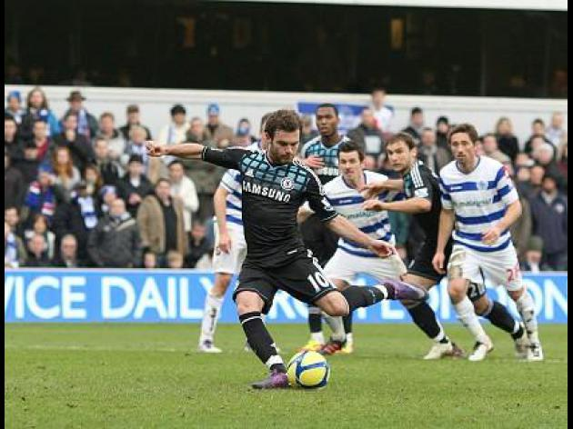 Mata sends Blues through
