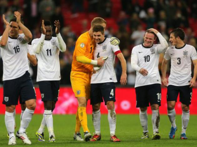 England 2 Poland 0: Match Report