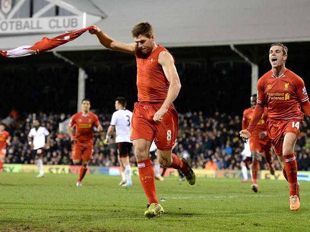 Gerrard goal flummoxes Fulham
