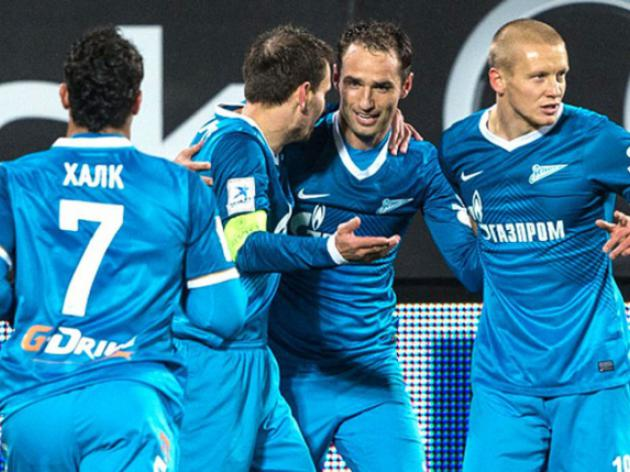 Leaders Zenit out to make it eight straight wins