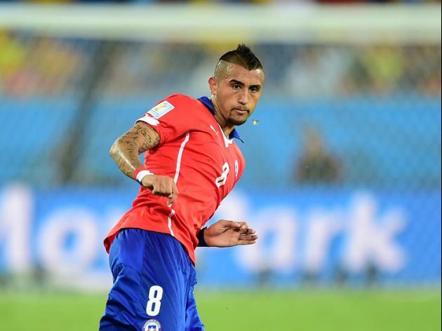Vidal serene despite United rumours