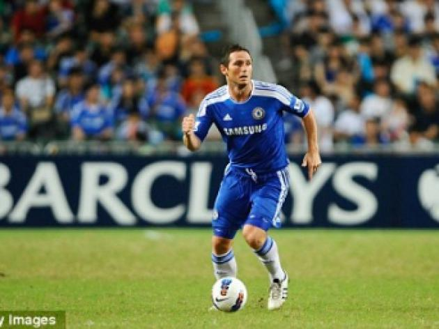 Andre Villas-Boas fears Frank Lampard absence for Chelsea