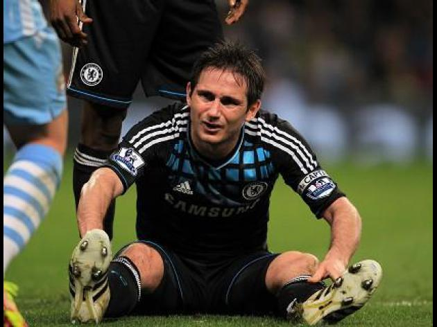 Chelsea 'not as good as we used to be' - Lampard