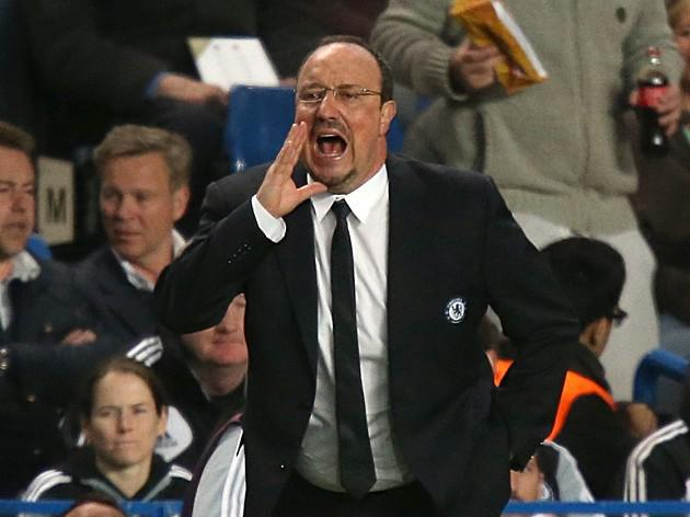 Benitez says his Chelsea players deserve silverware