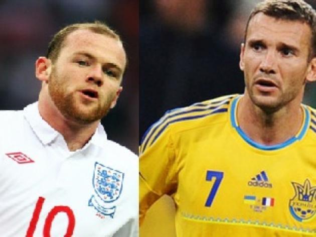 Wayne Rooney vs Andriy Shevchenko
