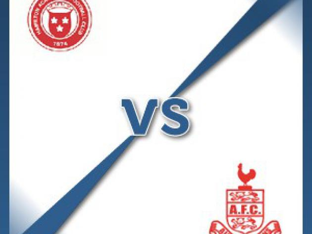 Airdrie United away at Hamilton Academical - Follow LIVE text commentary