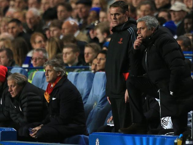 Mourinho thrilled by Chelsea's big-time stance
