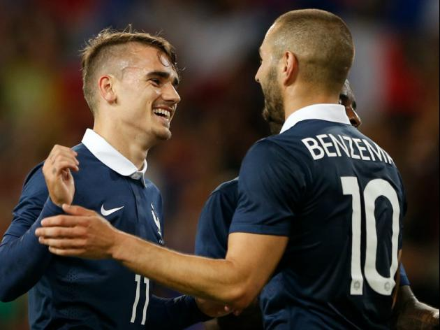No Ribery, no problem as France hit eight past Jamaica