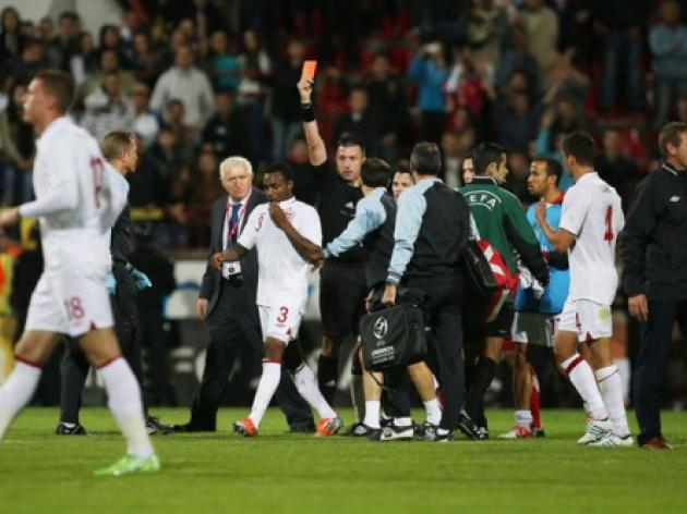 Eight indicted over Serbia-England U21 brawl