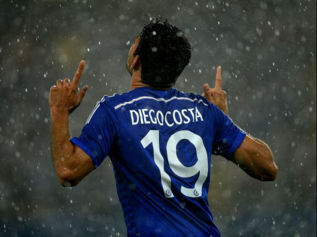 Costa off to a fast start with Chelsea