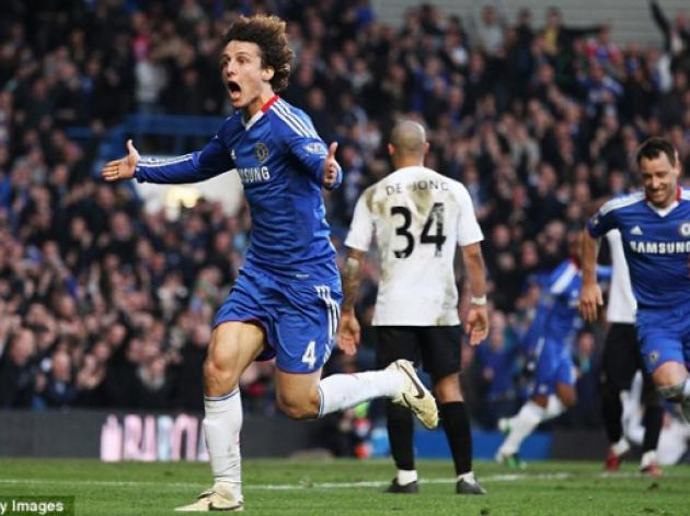 Chelsea 1 Manchester City 0: David Luiz and Ramires on target in Blues win
