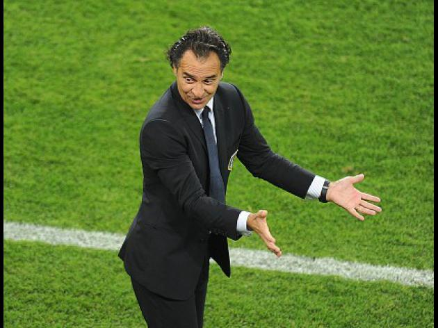 Prandelli focused only on Spain