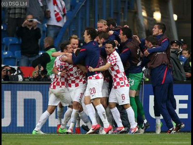 Italy and Croatia play out a draw