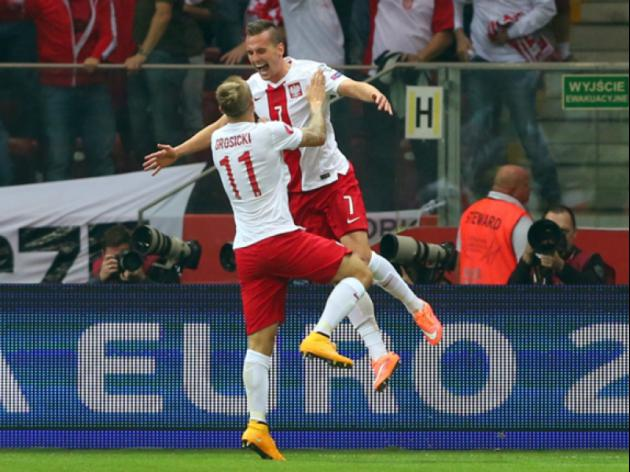 History-makers Poland down Germany, Ireland rout Gibraltar