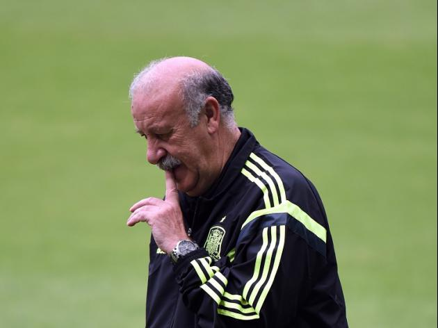 Del Bosque seeks Spanish reaction