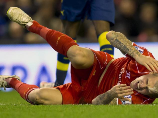 Martin Skrtel has more staples in his head than you do