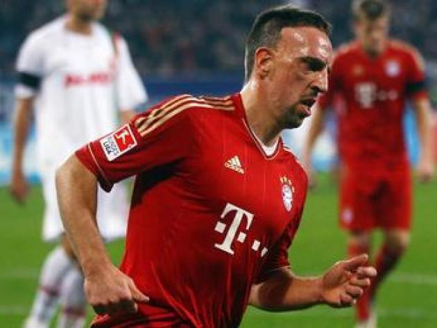 Ribery criticises Bayern's lack of spending