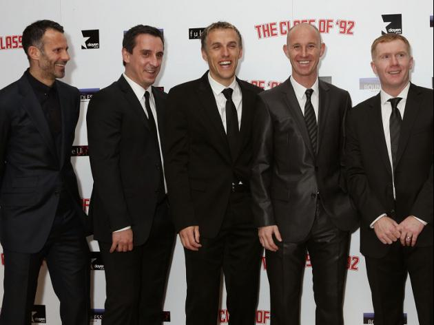 'Class of 92' greats to buy Salford